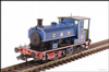 Hattons H4-AB14-004 Andrew Barclay 0-4-0ST 14 1863 in Caledonian Railway lined blue
